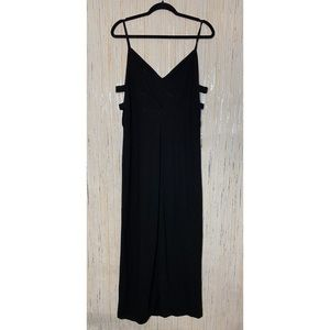 Tobi Little Black Maxi Dress